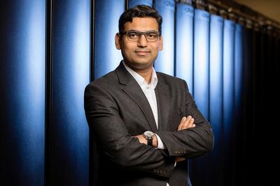 Chemical and biomolecular engineering professor Diwakar Shukla