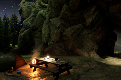 virtual cave