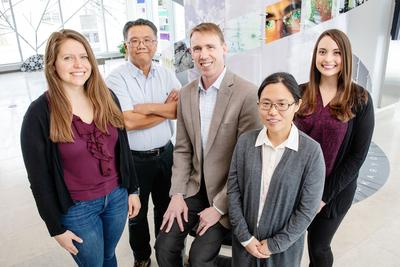 research team at Urbana-Champaign