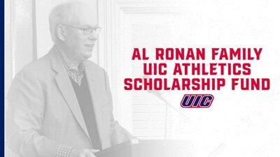 Al Ronan at podium