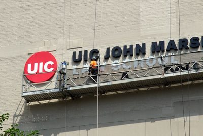 New UIC JMLS sign