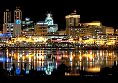 Peoria at night