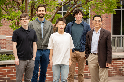 group shot of researchers