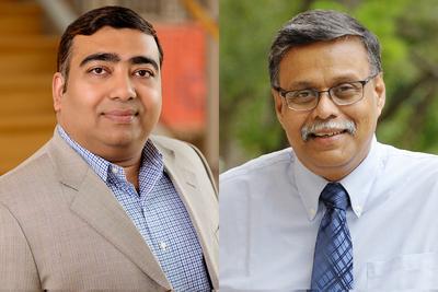 headshots for Ujjal Kumar Mukherjee and Sridhar Seshadri