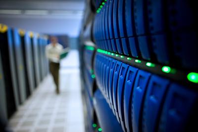 Supercomputer in Urbana-Champaign
