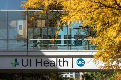 UI Health hospital bridge